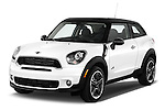 Front three quarter view of a 2013 Mini Paceman2013 Mini Paceman