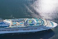 Sun Princess, Princess Cruises vessel in the Tongass Narrows, southeast, Alaska.