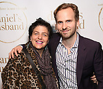"""Sheryl Kaller and Ryan Spahn  during the Opening Night Celebration for """"Daniel's Husband"""" at the West Bank on October 28, 2018 in New York City."""