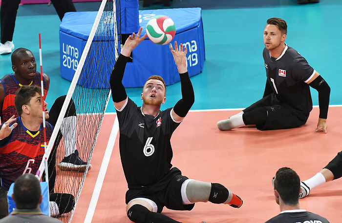 Bryce Foster, and Jesse Ward, Lima 2019 - Sitting Volleyball // Volleyball assis.<br />