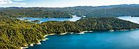 Lake Waikaremoana, Te Urewera, Hawke's Bay, North Island, New Zealand, NZ