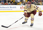 Brian Dumoulin (BC - 2) - The Boston College Eagles defeated the Boston University Terriers 3-2 (OT) to win the 2012 Beanpot championship on Monday, February 13, 2012, at TD Garden in Boston, Massachusetts.