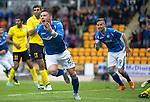St Johnstone v Alashkert FC...09.07.15   UEFA Europa League Qualifier 2nd Leg<br /> Michael O'Halloran celebrates his goal<br /> Picture by Graeme Hart.<br /> Copyright Perthshire Picture Agency<br /> Tel: 01738 623350  Mobile: 07990 594431