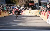 stage winner Daniel Felipe Martínez (COL/EF Education First)<br /> <br /> Stage 7: Nice to Col de Turini (181km)<br /> 77th Paris - Nice 2019 (2.UWT)<br /> <br /> ©kramon