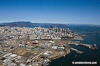Aerial photograph Mission Bay San Francisco California