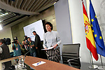 Isabel Celaa, Minister of Education, Professional Training and Spokesperson in press conference after the first Council of Ministers of the new Government of Spain, chaired by Pedro Sanchez. June 8,2018. (ALTERPHOTOS/Acero)