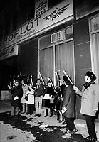 1972 11 SOI - MARIAGES JUIFS RUSSIE - Manifestation