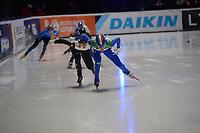SPEEDSKATING: DORDRECHT: 05-03-2021, ISU World Short Track Speedskating Championships, Heats 500m Ladies, Martina Valcepina (ITA), ©photo Martin de Jong