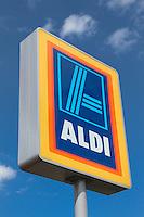 Aldi shop sign