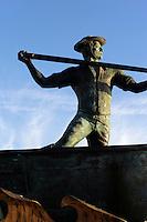 Walfang-Denkmal in Sao Roque/Cais de Pico auf der Insel Pico, Azoren, Portugal