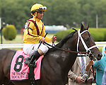 June 5 2015: Rock Fall and Javier Castellano  with  win the 37th running of the Grade II True North Stakes for 3-year olds & up, going 6 furlongs at Belmont Park.  Trainer Todd Pletcher. Owner Stonestreet Stables. Sue Kawczynski/ESW/CSM