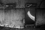 """Closet"" <br /> Beluga Whale Enclosure<br /> Coney Island Aquarium<br /> Coney Island, NY <br /> From the ""Captivity"" series<br /> © Thierry Gourjon-Bieltvedt"