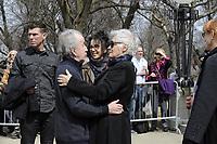 Funerailles<br />  de Jeanine Sutto, 10 avril 2017<br /> <br /> PHOTO : Agence Quebec Presse