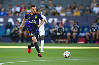 CARSON, CA - JUNE 19: Shane O'Neill #27 of the Seattle Sounders FC moves to the ball during a game between Seattle Sounders FC and Los Angeles Galaxy at Dignity Health Sports Park on June 19, 2021 in Carson, California.