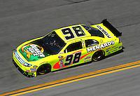 Feb 07, 2009; Daytona Beach, FL, USA; NASCAR Sprint Cup Series driver Paul Menard during practice for the Daytona 500 at Daytona International Speedway. Mandatory Credit: Mark J. Rebilas-
