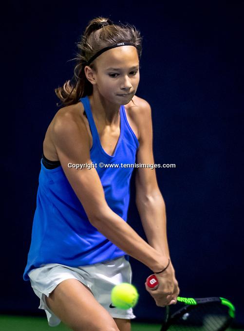 Hilversum, Netherlands, December 2, 2018, Winter Youth Circuit Masters, Jade Groen (NED)<br /> Photo: Tennisimages/Henk Koster