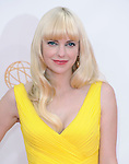 Anna Farris attends 65th Annual Primetime Emmy Awards - Arrivals held at The Nokia Theatre L.A. Live in Los Angeles, California on September 22,2012                                                                               © 2013 DVS / Hollywood Press Agency