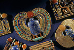 Pectoral, scarab, KV 62, Tutankhamun and the Golden Age of the Pharaohs, Page 202