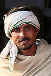 A man from the remote village of Rusirani, near Jaipur.