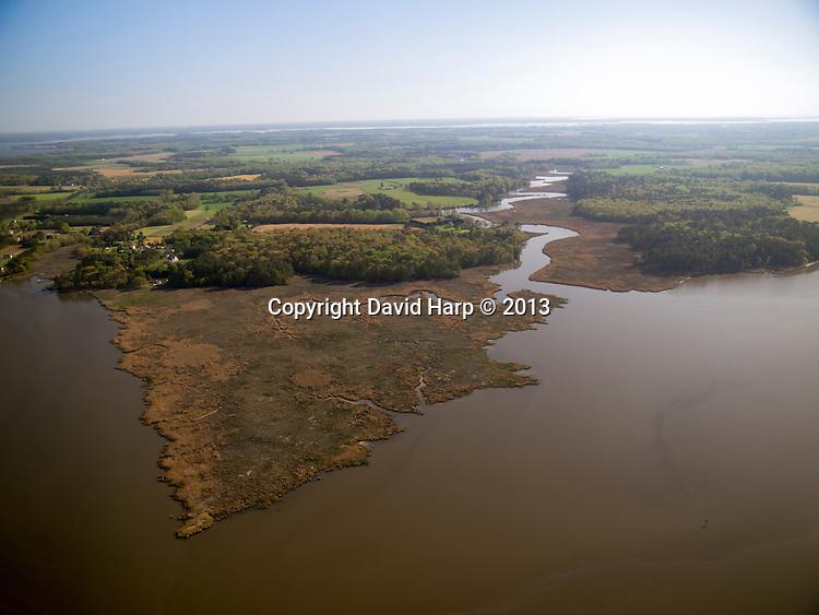 The upper Chester River, between Millington and Crumpton
