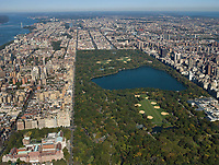 aerial photograph Central Park, Manhattan, New York City