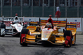 Verizon IndyCar Series<br /> Chevrolet Detroit Grand Prix Race 2<br /> Raceway at Belle Isle Park, Detroit, MI USA<br /> Sunday 4 June 2017<br /> Ryan Hunter-Reay, Andretti Autosport Honda<br /> World Copyright: Phillip Abbott<br /> LAT Images