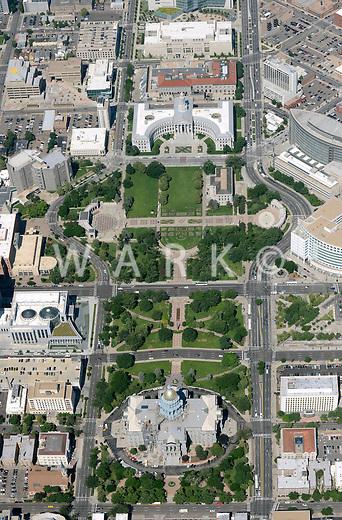 Civic Center Park, State Capitol and Denver City Hall. Denver, Colorado. June 2014. 85563