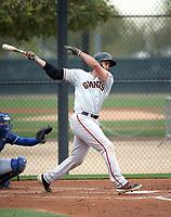 Gio Brusa - San Francisco Giants 2019 spring training (Bill Mitchell)