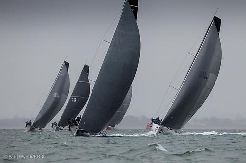 RORC fleet reaching start