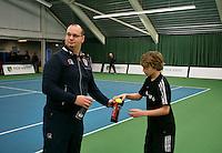 18-01-14,Netherlands, Rotterdam,  TC Victoria, Wildcard Tournament, Ballchange<br /> Photo: Henk Koster