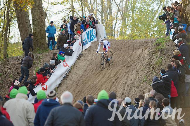 Lars van der Haar (NLD)<br /> <br /> Vlaamse Duinencross Koksijde 2013
