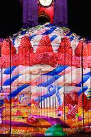 Projection produite par SpectaculaireS Allumeurs d'Images de Saint-Thurial