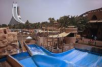 Vereinigte arabische Emirate (VAE, UAE), Dubai, Wasserpark Wild Wadi, Jumeirah Beach Hotel