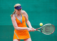 August 12, 2014, Netherlands, Raalte, TV Ramele, Tennis, National Championships, NRTK,  Maurien Rikkert (NED)<br /> Photo: Tennisimages/Henk Koster