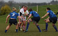 Sunday 3rd December 2017; Ulster Women vs Leinster Women<br /> <br /> Ilse Van Staden during the Women's Inter-Pro between Ulster and Leinster at Dromore RFC, Barbon Hill, Dromore, County Down, Northern Ireland. Photo by John Dickson / DICKSONDIGITAL
