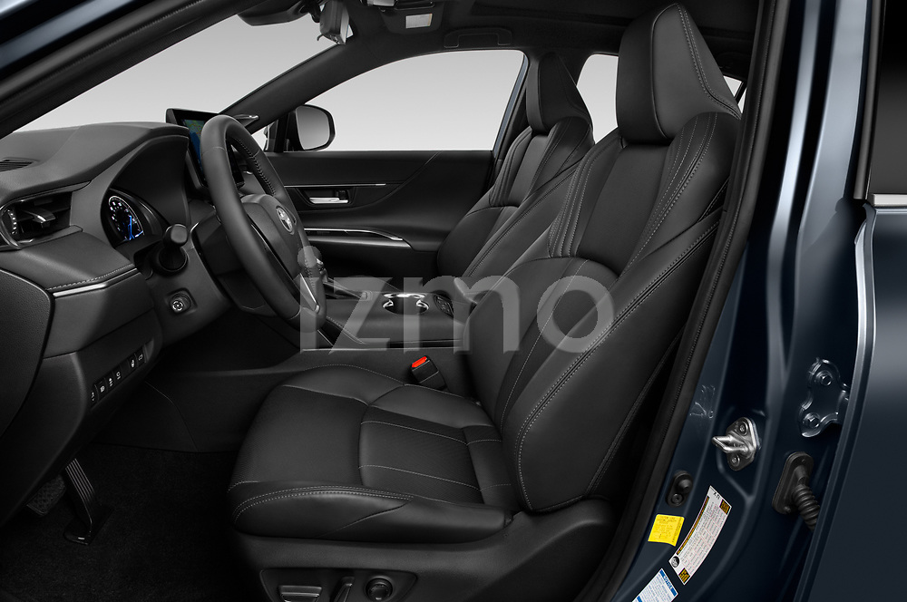 Front seat view of a 2021 Toyota Venza Limited 5 Door SUV