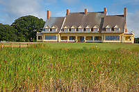 Corolla, North Carolina, Outer Banks.  Currituck Heritage Park, The Whalehead Club, built mid-1920s.