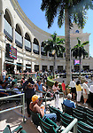 Scenes from around the track during Gulfstream Oaks Day on April 2, 2011 at Gulfstream Park in Hallandale Beach, Florida.  (Bob Mayberger/Eclipse Sportswire)