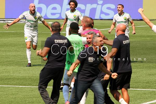 São Paulo (SP), 22/08/2021 - Partida entre Palmeiras  e Cuiabá válida pelo Campeonato Brasileiro no Allianz Parque em São Paulo, neste domingo (22).
