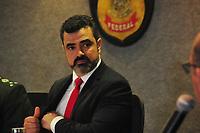 CURITIBA, PR, 04.02.2019: POLÍCIA-CURITIBA - Luciano Flores durante o evento. Em solenidade tomou posse o novo Superintendente Regional da Policia Federal o delegado Luciano Flores de Lima, na Superintendencia da PF em Curitiba, nesta segunda-feira (04). (Foto: Ernani Ogata/Codigo19)