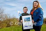 Christopher Lynch giving Amy Roche a big hug as Amy was the overall winner at the Lee Strand Kerry Garda Youth Achievement awards ceremony