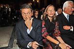 IGNAZIO MARINO CON ROSANNA PARISIEN TOLDIN<br /> CONCERTO DI BENEFICENZA DI UTO UGHI<br /> BASILICA DI SANTA MARIA IN ARA COELI ROMA 2011