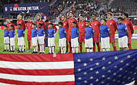 WASHINGTON, D.C. - OCTOBER 11: The USMNT starting eleven during their Nations League game versus Cuba at Audi Field, on October 11, 2019 in Washington D.C.