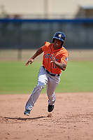Houston Astros Arturo Michelena (11) during a Minor League Spring Training Intrasquad game on March 28, 2018 at FITTEAM Ballpark of the Palm Beaches in West Palm Beach, Florida.  (Mike Janes/Four Seam Images)