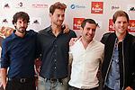 Marc Garcia, Peter Vives, Joan Dausa & Cristian Valencia.