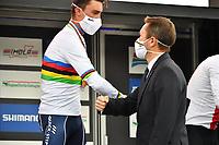 Picture by Simon Wilkinson/SWpix.com - 24/25/26/27/09/2020 - Cycling - UCI 2020 Road World Championships IMOLA - EMILIA-ROMAGNA ITALY - The Photo Brief - SHIMANO - SANTINI