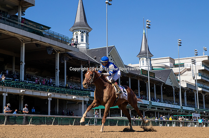 September 5, 2020: Sitting on Go with Corey Lanerie wins the Iroquois Stakes  at Churchill Downs in Louisville, Kentucky, on September 05, 2020. Evers/Eclipse Sportswire/CSM