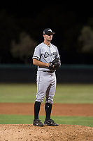 AZL White Sox relief pitcher Ian Clarkin (60) prepares to deliver a pitch during a rehab assignment in an Arizona League game against the AZL Dodgers at Camelback Ranch on July 7, 2018 in Glendale, Arizona. The AZL Dodgers defeated the AZL White Sox by a score of 10-5. (Zachary Lucy/Four Seam Images)