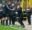 17/10/2010   Copyright  Pic : James Stewart.sct_jsp022_dundee_utd_v_celtic  .:: CELTIC MANAGER NEIL LENNON GOES BALLISTIC AFTER REFEREE DOUGIE MCDONALD OVER TURNED THE PENALTY DECISION :: .James Stewart Photography 19 Carronlea Drive, Falkirk. FK2 8DN      Vat Reg No. 607 6932 25.Telephone      : +44 (0)1324 570291 .Mobile              : +44 (0)7721 416997.E-mail  :  jim@jspa.co.uk.If you require further information then contact Jim Stewart on any of the numbers above.........