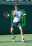 March 29 2018: Pablo Carreño Busta (ESP) defeats Kevin Anderson (RSA) by 6-4, 5-7, 7-6 (6), at the Miami Open being played at Crandon Park Tennis Center in Miami, Key Biscayne, Florida. ©Karla Kinne/Tennisclix/CSM